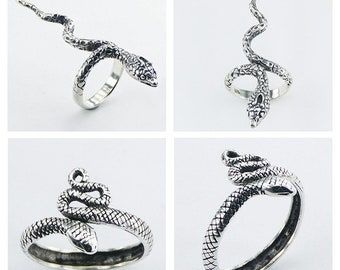 PREORDER! 50% Off SERPENT silver rings