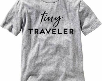 Toddler/Kids Tiny Traveler Graphic Tee