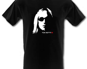 TOM PETTY and the Heartbreakers Heavy Cotton t-shirt All Sizes Small - XXL (kids and adults)
