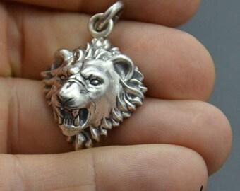 Pendant Lion Silver