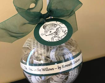 The Wind in the Willows Ornament; Literary Gifts; Gifts for teachers
