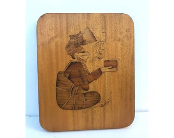 Decorative Wood Board -- Spiritual Wood Board -- Spiritual Decor -- Decorative Board -- Spiritual Art -- Wood Board -- Medicine Man