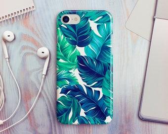 Banana Leaf iPhone 7 Case iPhone 8 Case iPhone X Case iPhone 7 Plus Case iPhone SE Case iPhone 8 Plus Case iPhone 6 Case iPhone 5s Case
