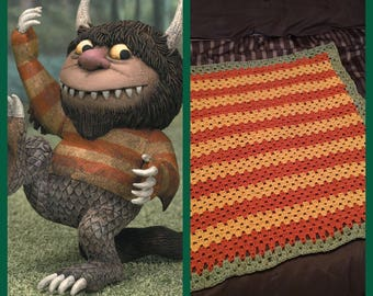 Where the Wild Things Are Blanket