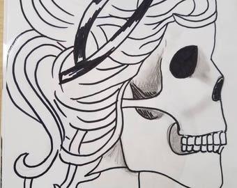 """Original artwork """"the lady"""""""