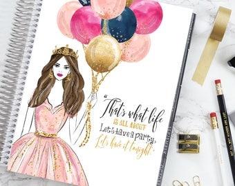 Birthday Queen   COVER   Erin Condren   Happy Planner   Recollection