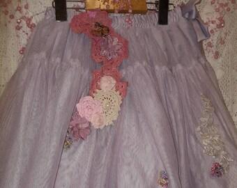 Fairy/princess/boho/up cyled tutu skirt
