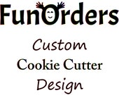 8 Custom Designed and 3D Printed Cookie Cutters
