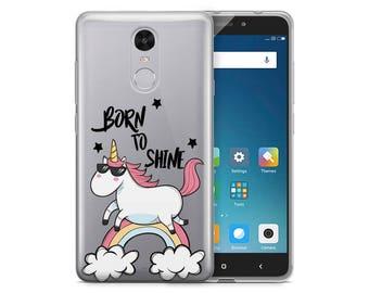 Unicorn Clear Phone Case For Xiaomi Redmi Note 4 Xiaomi Redmi Note 4X Xiaomi Redmi 4X Unicorns Phone Case Clear Case Xiaomi