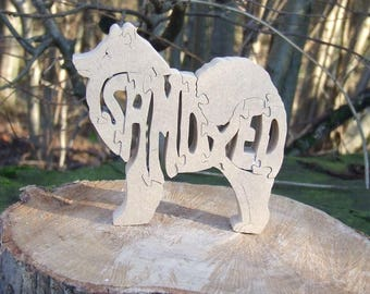 Samoyed, Samoyed gift, Samoyed memorial, Samoyed lover gift, wooden Samoyed, wooden dog gift, gift for dog lover, dog breed gift