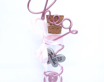 Original sweets container for baptism personalized to order