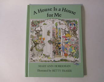 A House is a House for Me by Mary Ann Hoberman