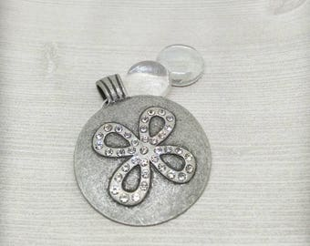 Antique Silver pendant, Pendant, Jewelry Supplies