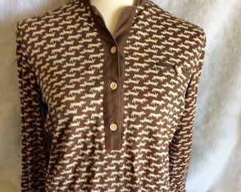 Dachshund Rescue Shirt|Dog Shirts| Collared Shirt| Collared Blouse| Dachshund Dog|Button up Shirts| Casual Shirts|Casual Blouses| Dog Top