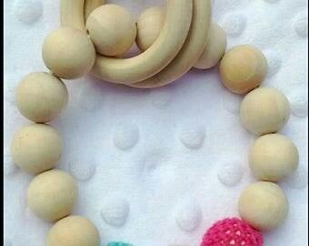 Baby teething teething ring