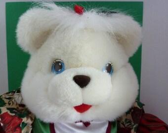 Jingle Merry Teddy, Circa 1993, In Original Box, Named Princess Merry Bell