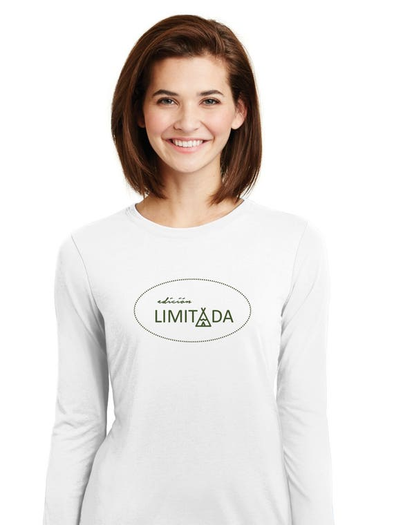 Round neck women t-shirt EDICION LIMITADA