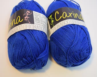 100% cotton yarn from Italy