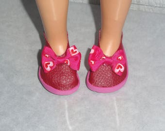 Ballerinas shoes compatible modern doll famosa Nancy doll