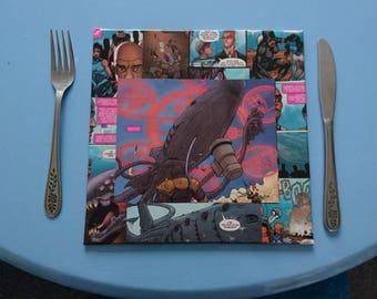 Xmen comic place mat/decorative plaque