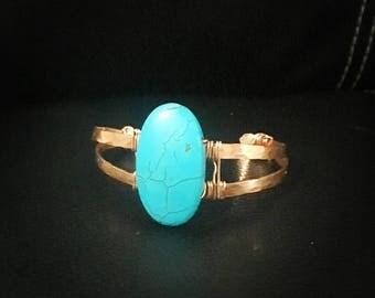 Copper bracelet, hamered copper jewelry, organic bracelet, tribal chic, handmade in Costa Rica, unique gift idea for her.
