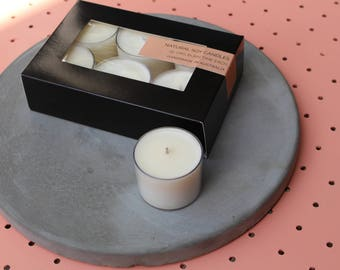 Gift Box of 6 Scented Soy Candles
