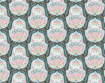 Blend Hill And Dale Belle Fabric - Gray (Priced by the half yard and cut continuously)