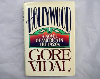 Hollywood by Gore Vidal Novel of American in the 1920's Vintage Hardcover Book