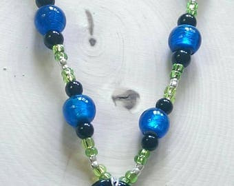 A Twist Of Lime Necklace