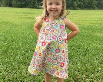 Girl's Sundress, Girl's Dress, Summer Dress