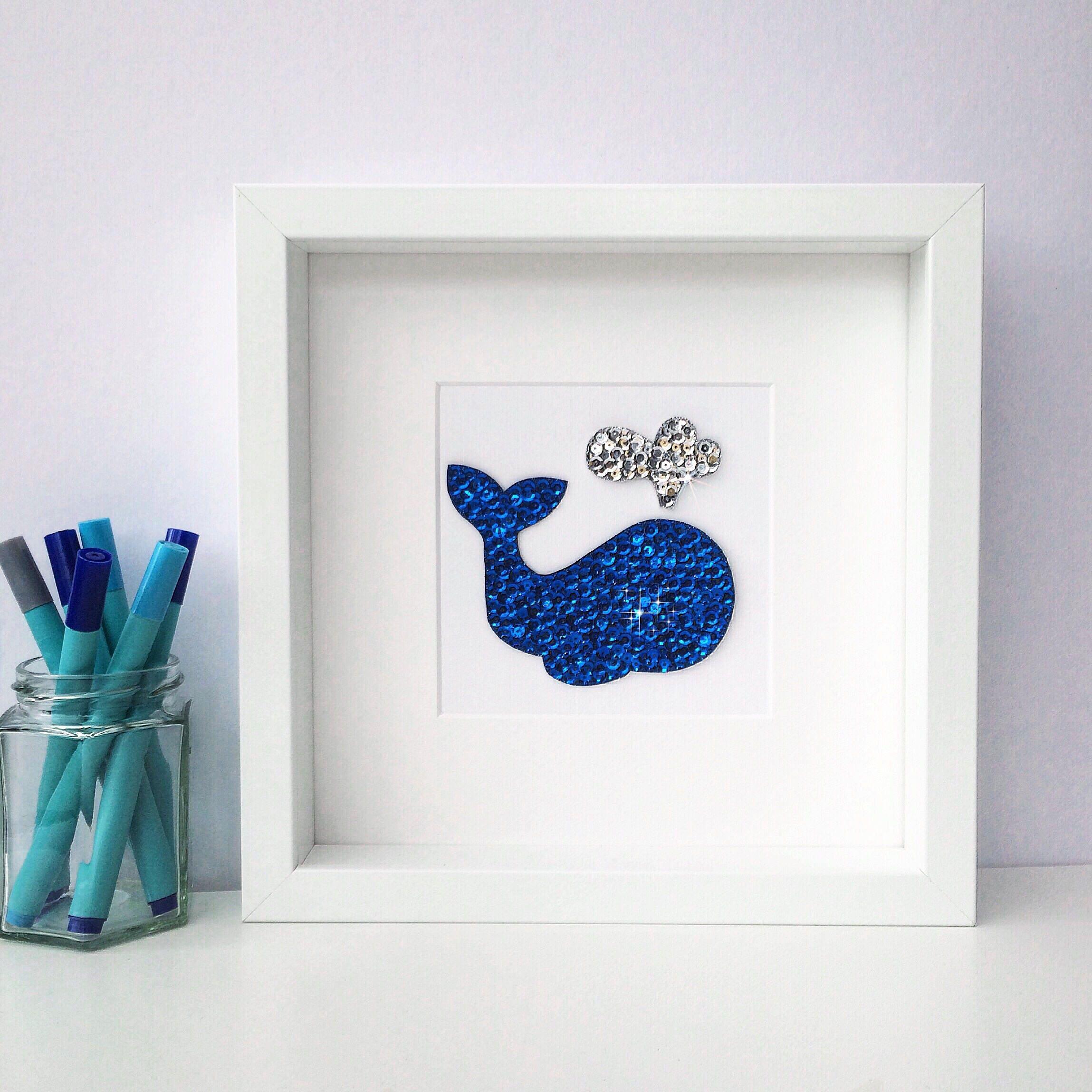 whale nursery art nautical nursery boy nursery decor whale. Black Bedroom Furniture Sets. Home Design Ideas