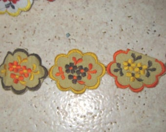 VINTAGE STYLE APPLIQUE EMBROIDERY