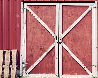 Red Barn Doors
