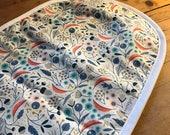 100% Cotton Pram Bassinet Liner - Forest Floor