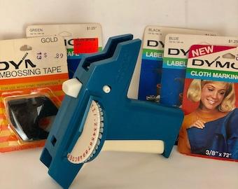 Vintage DYMO Label Maker, Nostalgic Gifts, vintage Office Supplies