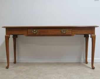 Ethan Allen Circa 1776 Sofa Hall Foyer Table Console