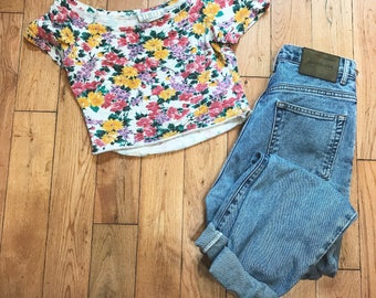 Calvin Klein Vintage Denim Mom Jeans size 8