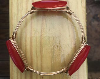 Cherry Red Bangle