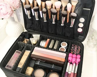 VC Cosmetic Travel Case Makeup Organiser Storage
