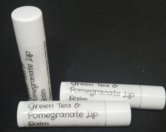 Pomegranate & Green Tea Lip Balm