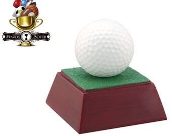 Color Golf Resin Award - Golf Trophy - Free Personalization