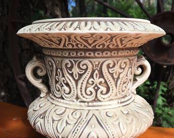 Vintage Napcoware Urn- OrnateUrn- Napcoware Vase-Vintage Napcoware-Embossed Urn-Unique Urn- Made in Japan-Urn-Vase