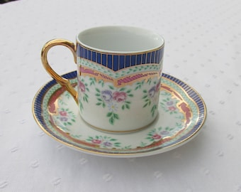 Beautiful Small Cup and Saucer  Formalities by Baum Bros.