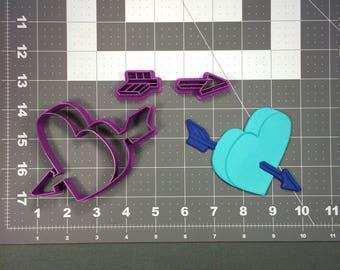 Arrow Hearts 101 Cookie Cutter Set