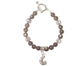 Black Moonstone Celestial Bracelet