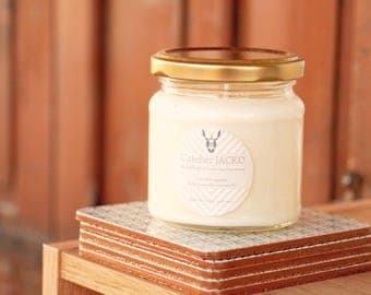 Essential oil scented candle - Lemongrass