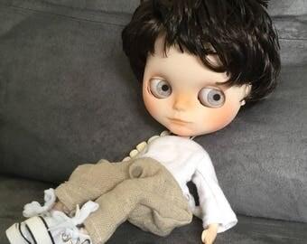 Blythe doll custom fake