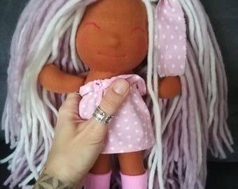 Waldorf doll fabric cloth