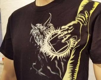 NA - PHEONIX RISING  - Black  T-Shirt - S-5X -Black - 100% cotton.  Narcotics Anonymous