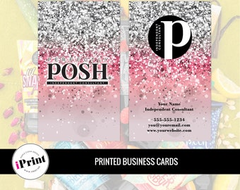 Perfectly Posh Business Card • Perfectly Posh Marketing Materials • Perfectly Posh Consultant Tools • PP-BC013